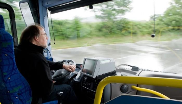 A buszokban ülő sofőrök egyébként gumiabroncs-fejlesztők