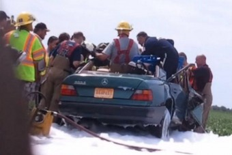 Angyal mentette meg a baleset áldozatát?