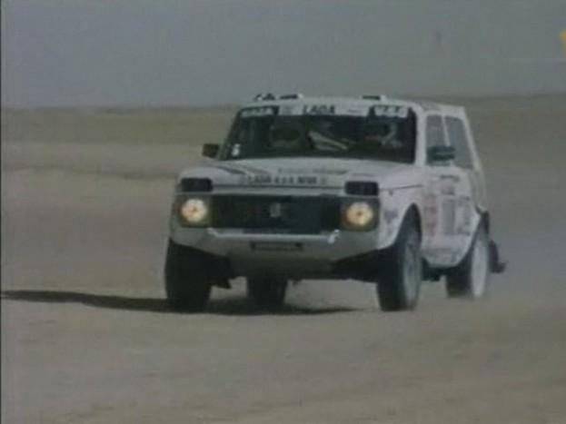 A T.I.R. Dakaros részében, az egyik csapat autója.