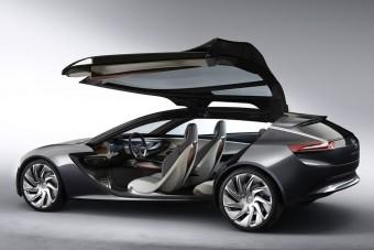 Tágas űrkupé-tanulmány az Opeltől