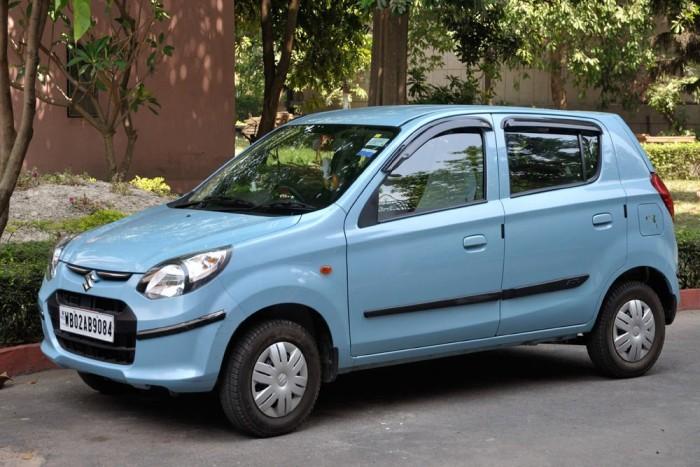 3. Maruti Alto 800, 868 000 Ft. 250 000 rúpiáért India legkapósabb autója. Az Indiában gyártott bestseller a Suzuki Altón alapul, 695 kilós súllyal és 48 lóerővel