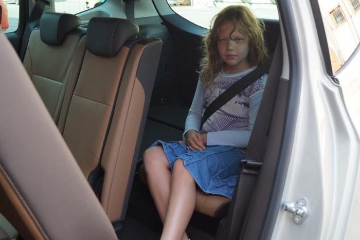 Kilencéves Kata lányom elfért, nekem már nehezebben ment volna