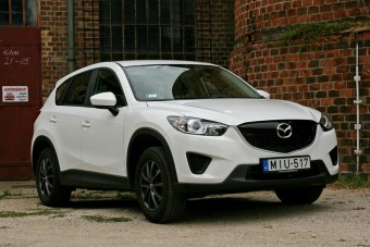 Mazda CX-5 - Fapados luxus