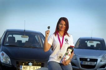 Itt az ország legjobb női sofőrje