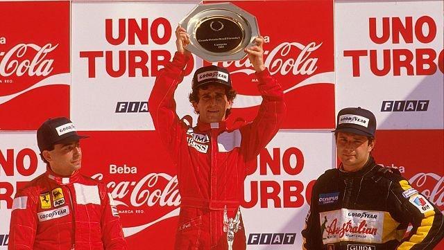 Alain Prost – 1985 (McLaren TAG MP4/2) – 1986 (McLaren TAG MP4/2B) – 1989 (McLaren Honda MP4/5)