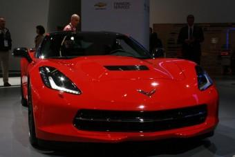 Képzett szépség Amerika Ferrarija mellett
