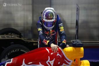 F1: Gyanúsan jó Vettel autója?