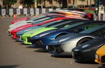 Lamborghini-orgia