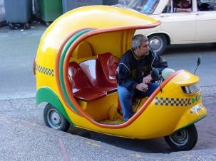 A világ legfurcsább taxijai