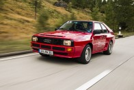 A német autógyártás dicsérete ez 20 év állás után feltámasztott Audi Quattro 8