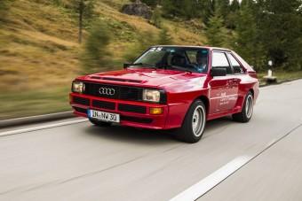 Audi, amely verte a Ferrarikat