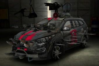Zombivadász Hyundai: penge egy járgány!