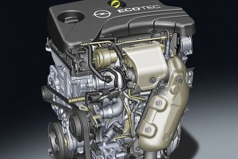 Itt az Opel egyliteres turbómotorja