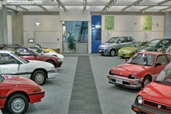 Karosszékből szétnézni a Honda-múzeumban