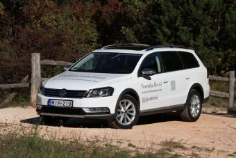 Fehér hollók VW-emblémával