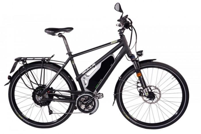 Bulls E45 elektromos kerékpár. Külsőre ugyan bicikliféle, tudása alapján azonban már inkább kismotor a Bulls E45-ös villanybringa. Elképesztő gyorsulásával, és 45 km/órás csúcssebességével nem mindennapi képességű járgány.
