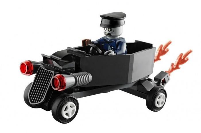 LEGO 30200, koporsóautó zombisofőrrel. Szép álmokat, gyerekek!