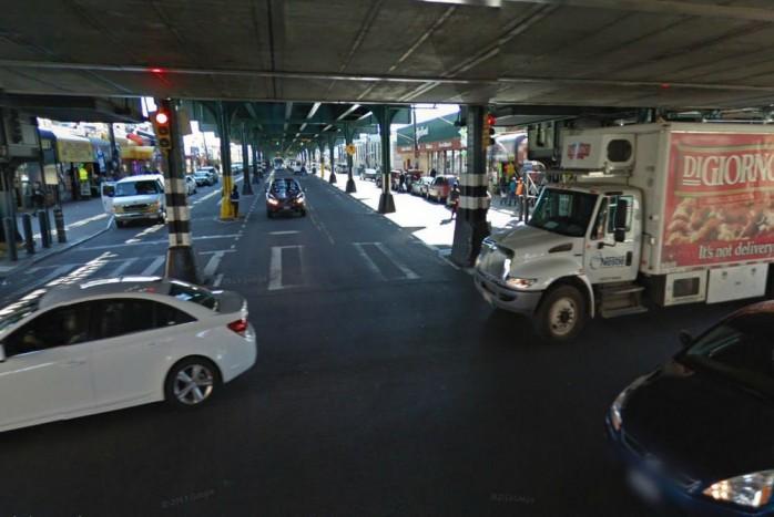 Ezen a környéken történt az ámokfutás (kép: Google Maps).