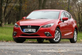 Mazda3: Árral szembe