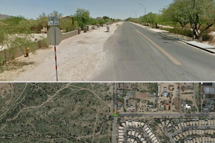 Ezen a környéken történt a baleset (fotó: GoogleMaps)