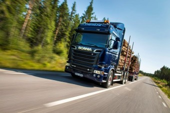 Új Scania motor rönkszállítókhoz