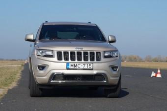Jeep Grand Cherokee: magyar sárban