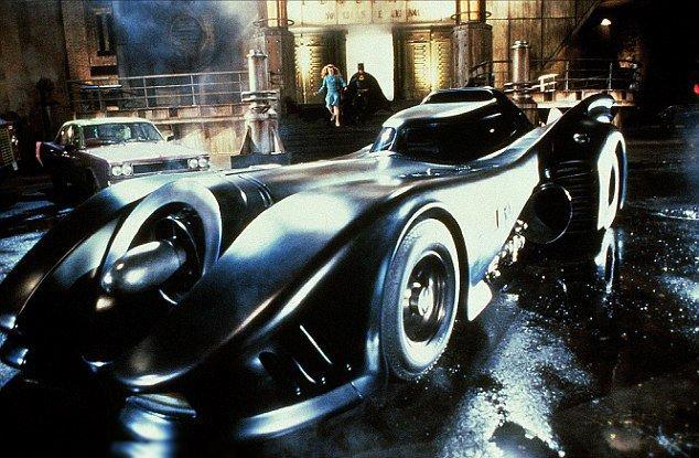 Az 1989-es filmben szereplő Batmobile