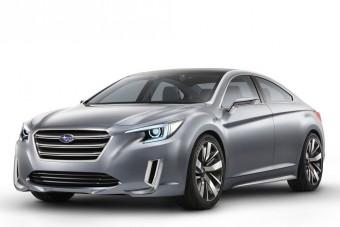 Új csúcsszedánt kóstolgat a Subaru