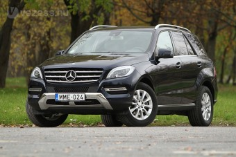 Mercedes ML: Szolid luxus