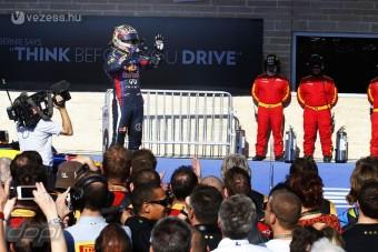 F1: Vettel történelmet írt Amerikában