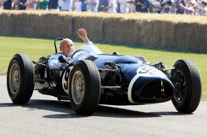 Stirling Moss egyik kedvence a Ferguson P99, ami tökéletes állapotban maradt fenn, és különböző rangos autós rendezvényeken még ma is feltűnik az angol legendával a volánja mögött