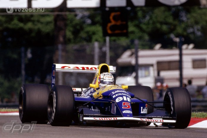 Ki ne tudná, hogy Nigel Mansell volt a piros 5-ös?