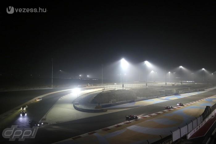 Az első villanyfényes próba a WEC bahreini 6 órás futamán