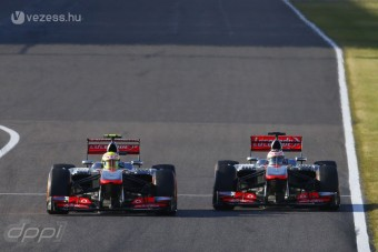 F1: Bepánikolt a McLaren