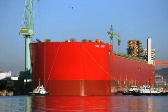 Vízen a világ legnagyobb hajója