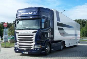 Északi fény - Scania R 490