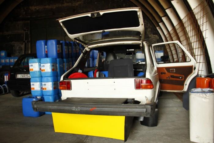 Állandó a fejlődés, újdonság a Zastava GTL 55-ből készült korongdobáló autó is. A kocsiból kidobott, hirtelen előbukkanó korongok kerülgetése kegyetlen feladat, gyakori irányváltásokkal, kitörő autóval