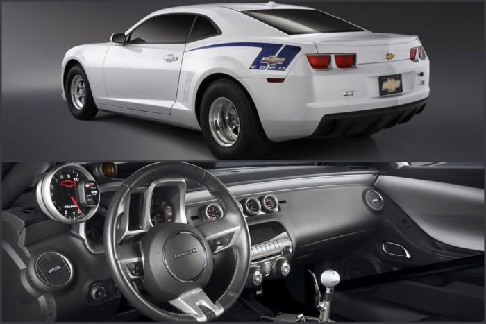 Chevrolet Camara COPO: egyedi gumik, nulla extra, verseny-utastér