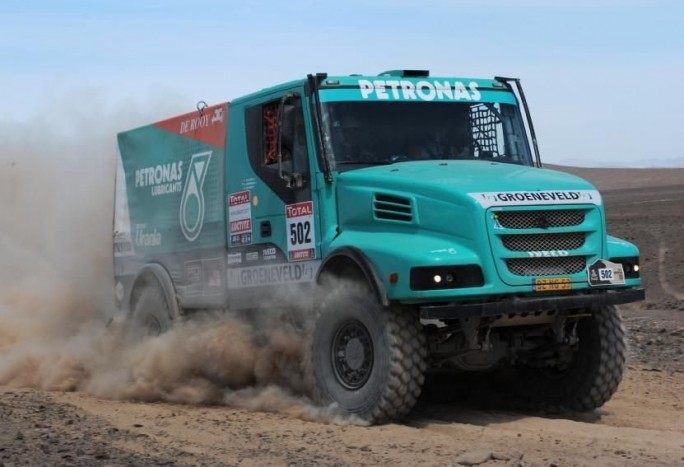 Az Iveco a bivalyerős Powerstart is viszi a jövő évi Dakarra