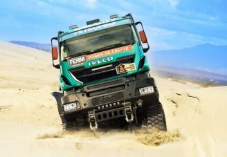 Jövőre is indul a Dakaron az Iveco