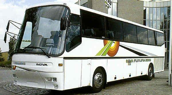 Így néztek ki az első Bova Futura távolsági buszok