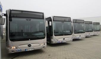 Megérkeztek az első hibrid Merci buszok