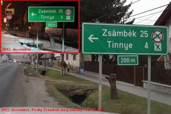 Több mint egy éve nem sikerül egy 2-est felülragasztani egy 1-essel a Magyar Közútnak