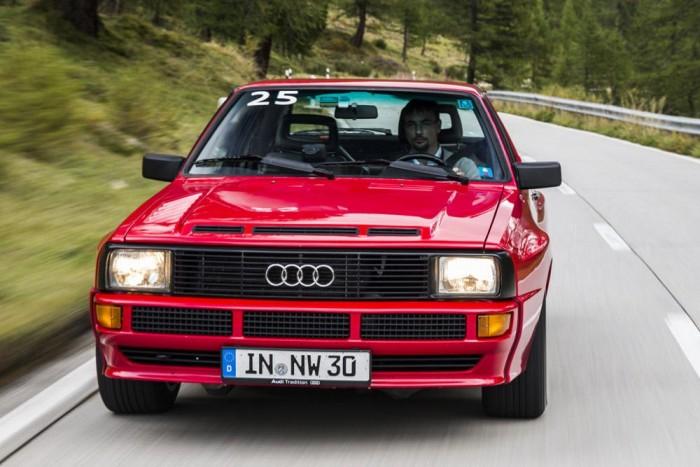 Audi Sport quattro, egy igazi, gyári példány
