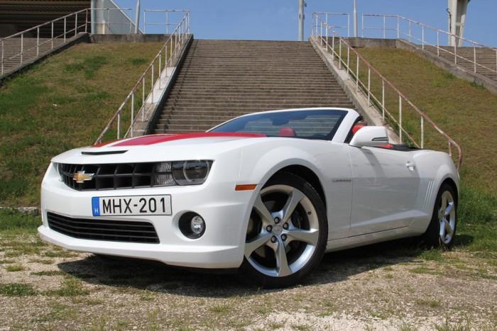 A Camaro kabrió méltó istenhozzád volt az Európából kivonuló márkától