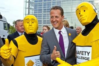 Schumacher a szülinapján lett volna új ember