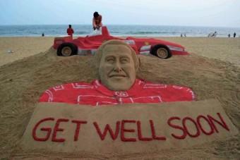 Szívhez szóló alkotás Schumachernek