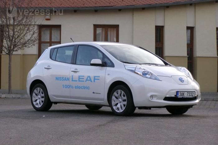 Teszt: Nissan LEAF II.