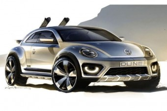 Homoktúró Bogár a Volkswagentől