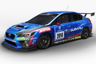 A Nürburgringen a Subaru WRX STI